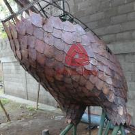 patung elang tembaga 21