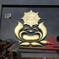 kerajinan-logo-brimob-kuningan