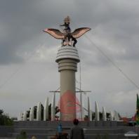 Patung Tembaga Gagak Winangsih 03