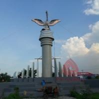 Patung Tembaga Gagak Winangsih 02