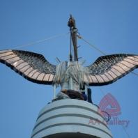 Patung Tembaga Gagak Winangsih 05