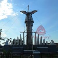 Patung Tembaga Gagak Winangsih 06