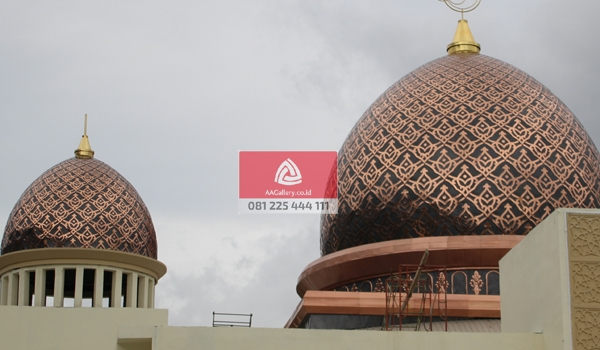 Tmb02 Kubah Masjid Tembaga Pilihan 600x350 1